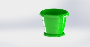 قالب سازی ظروف پلاستیکی